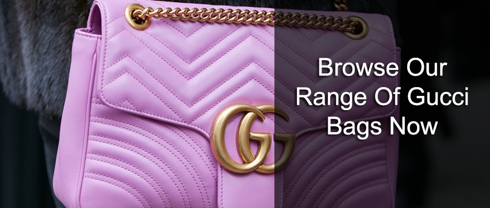 Browse our range of Gucci bags now
